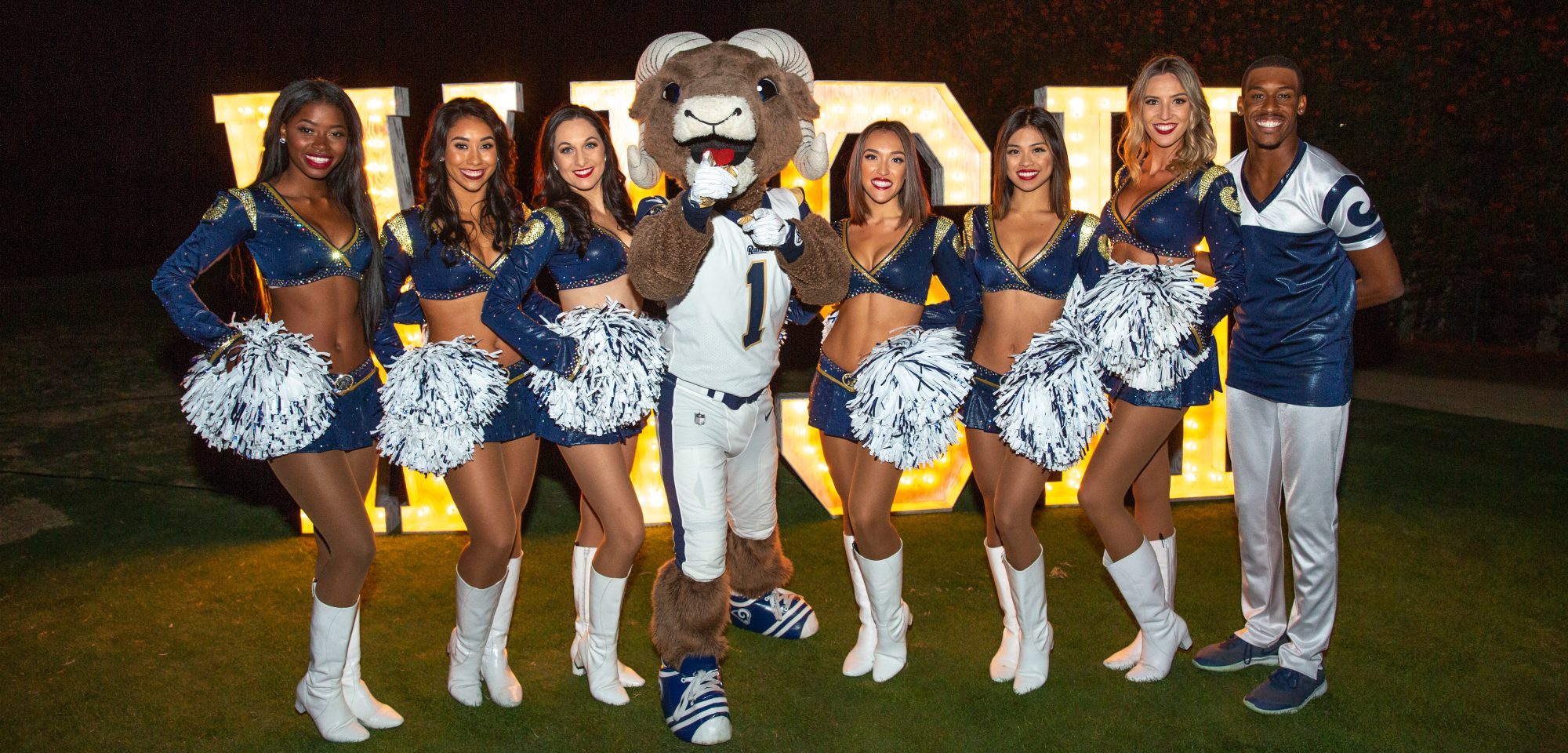 LA Rams Night for Wishes! Make-A-Wish Tri-Counties